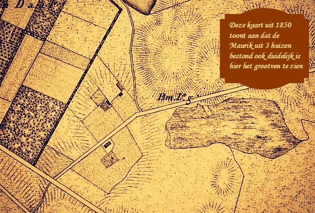 1850 De Maurik Waterkaart 2