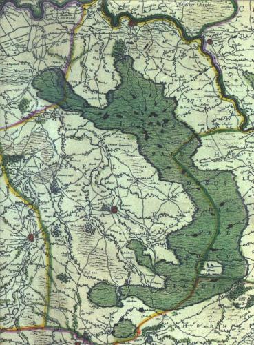 Peel 1640ca Hoogveengebied en omstreken