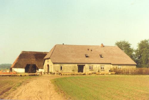 Boerderij v.d. Burght nu Fam Boschman na restauratie 1972